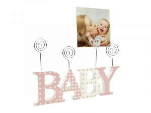 Fotoclip BABY rose